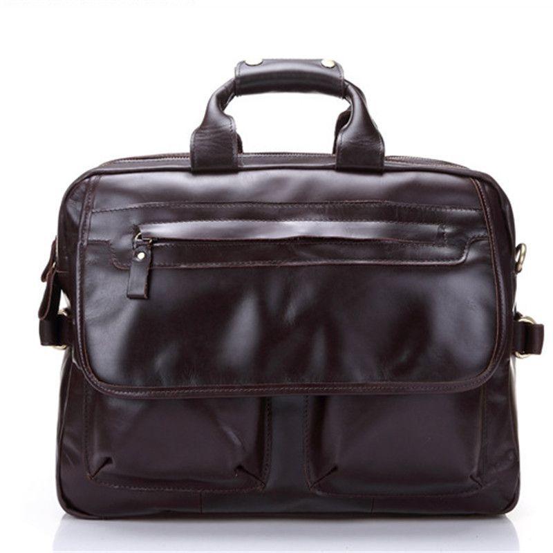 7e7920e3956e Baigio Leather Men Travel Bags 15