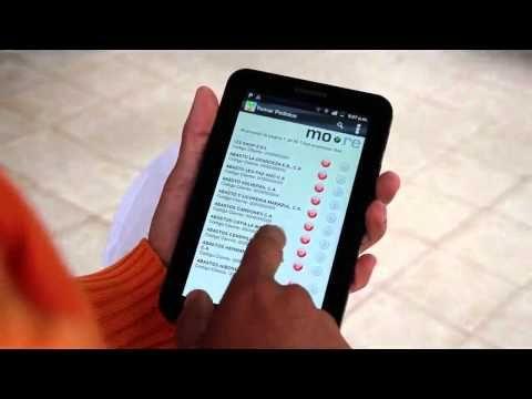 Sistema para tomar pedidos desde una tablet o celular/smartphone (Androi...