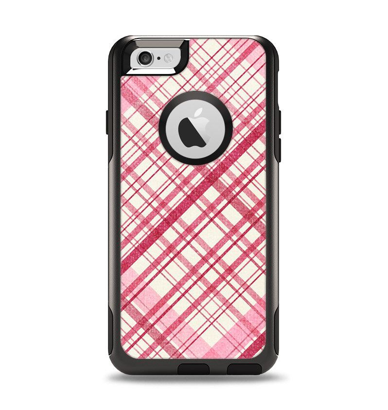 The Fancy Pink Vintage Plaid Apple iPhone 6 Otterbox Commuter Case Skin Set by TheSkinDudes on Etsy https://www.etsy.com/listing/204717705/the-fancy-pink-vintage-plaid-apple