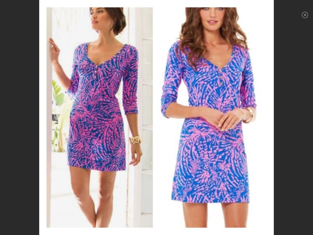 NWT Lilly Pulitzer Palmetto Dress XL 14/16 Rollin in the Grass ...