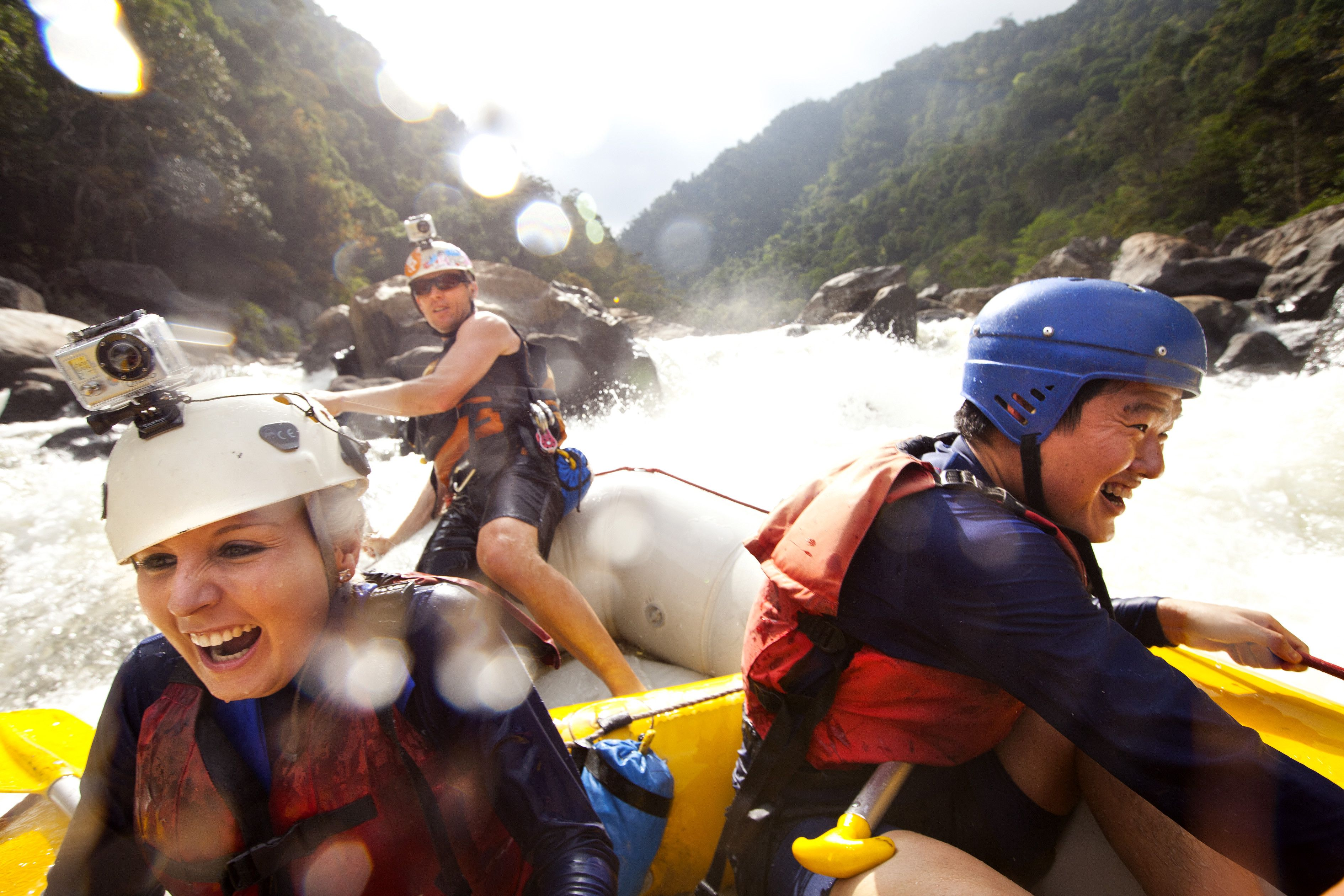 Extreme Tully River White Water Rafting from $185 pp