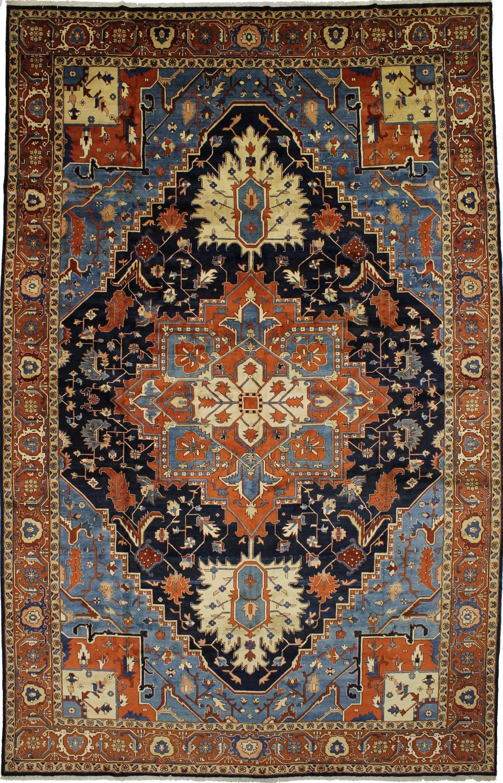 Antique Persian Rugs Exceptional Masterpiece Palace Size Heriz