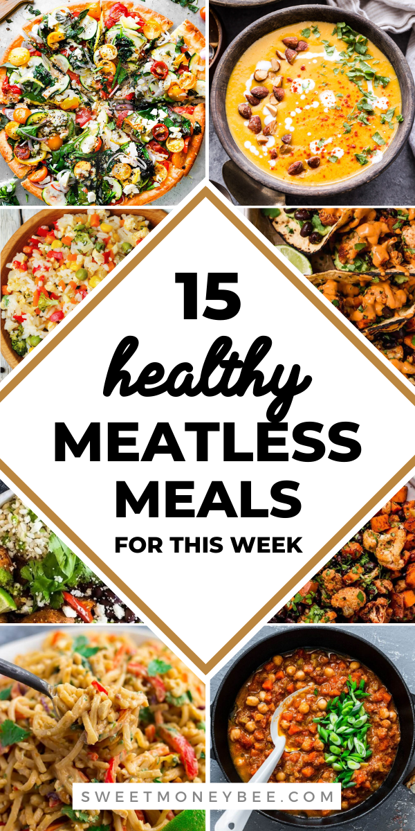 Healthy Meatless Meals And Vegetarian Ideas Meatless Meals Healthy Meals Without Meat Meatless Meals
