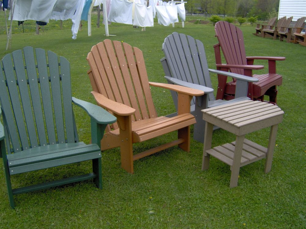 Why polywood adirondack chairs are a better choice