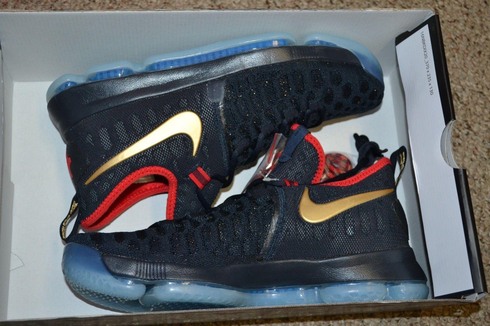 Nike Zoom Kd 9 Usa Lmtd Medalla De Oro Usa 9 Olympics 843396 470 Sz 10 No Box 671b57