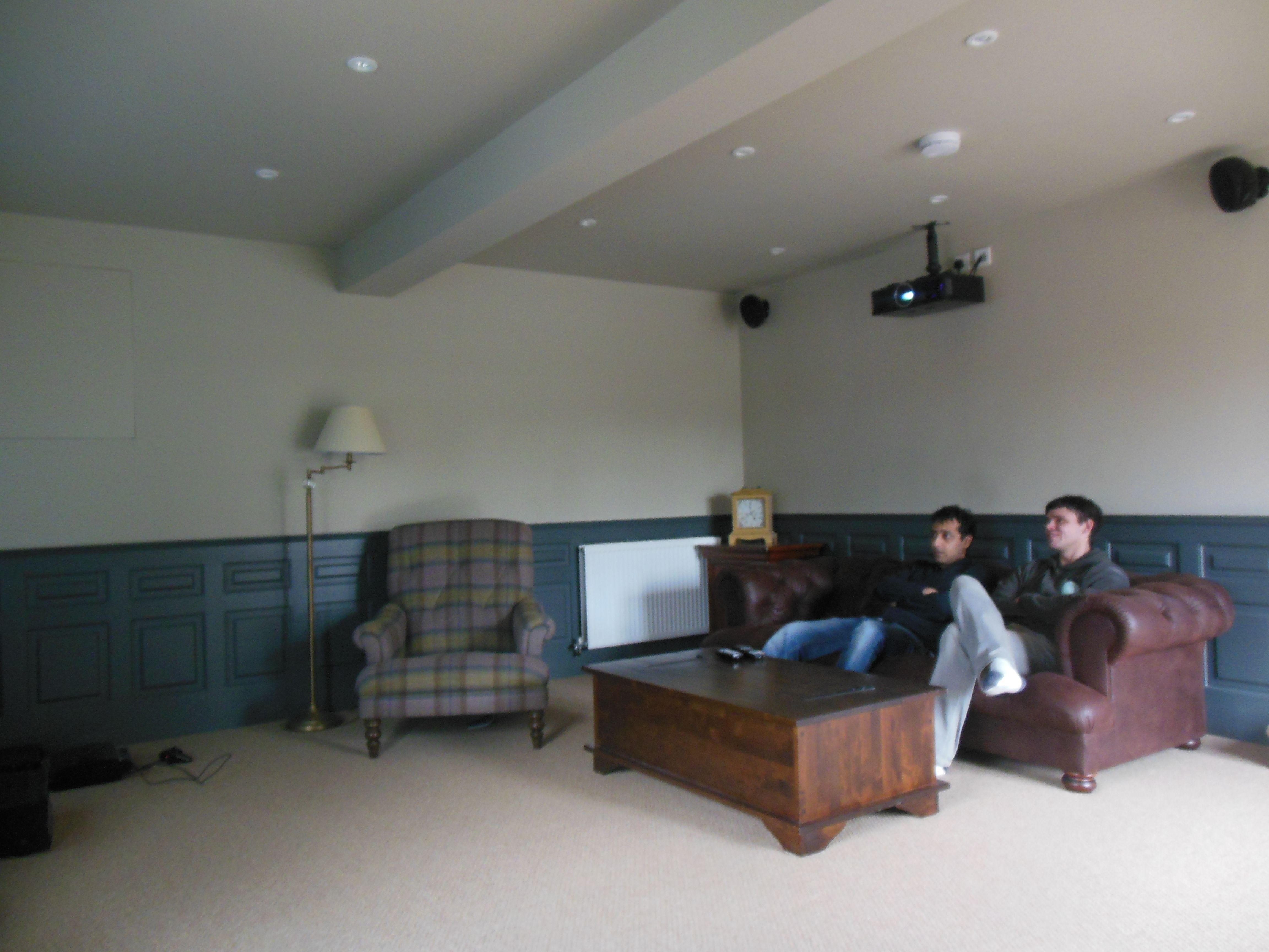 Large garage conversion to create movie room in Hazlemere HP15 ...