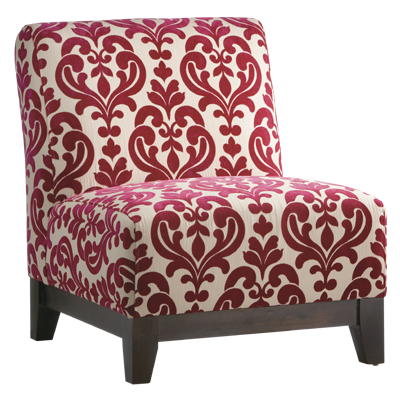 Love this chair for our new red and ivory living room theme ...