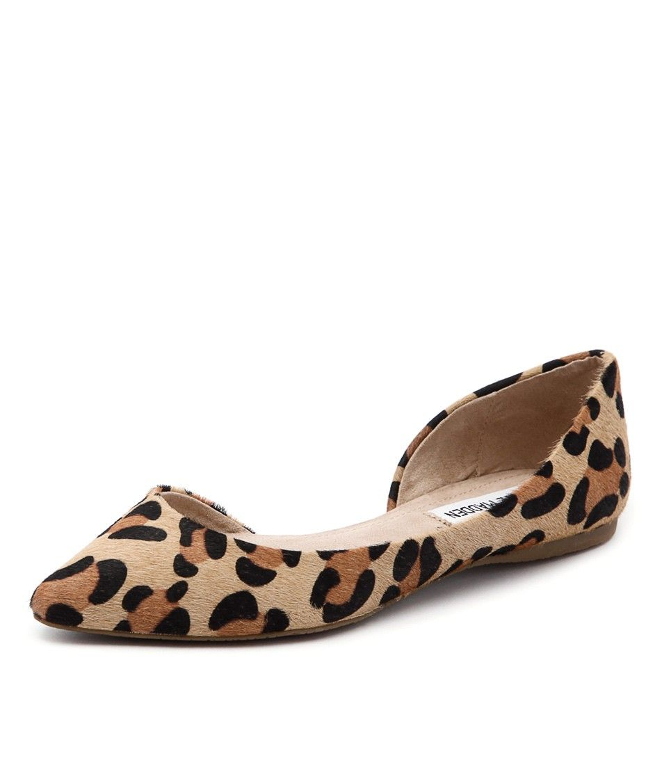 Leopard Ballet Flat by Steve Madden, available at