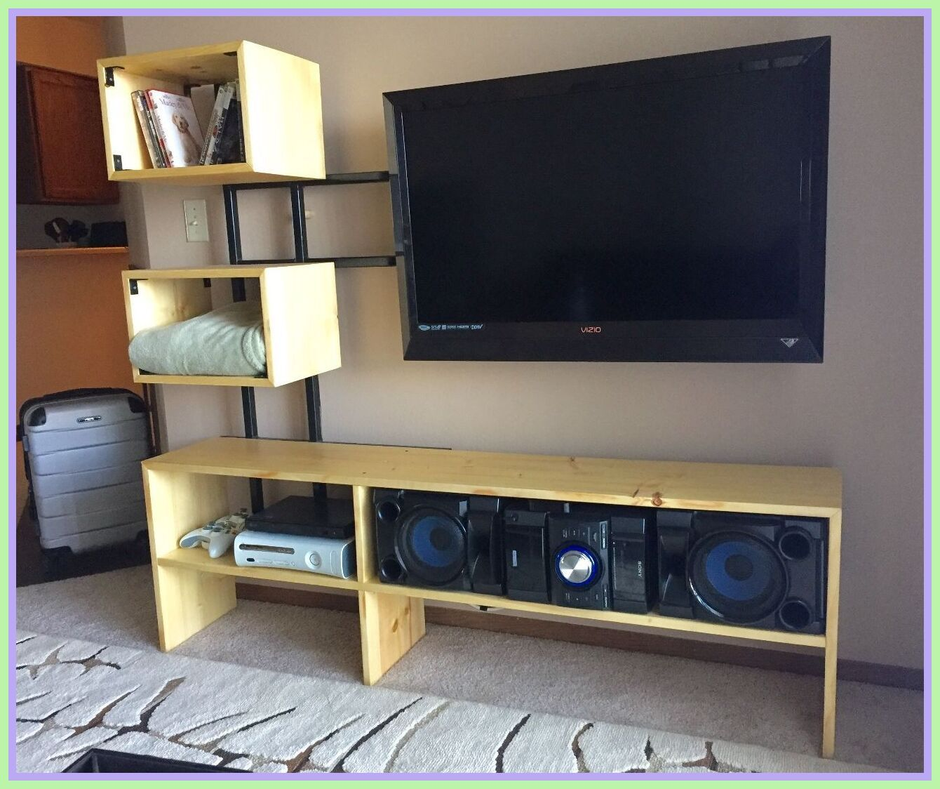 90 Reference Of Tv Stand Painted Floating In 2020 Tv Stand Luxury Floating Tv Stand Tv Stand For Sale