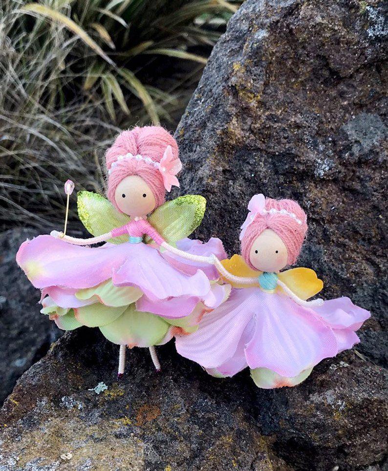 Fairy Handmade Flower Bendy