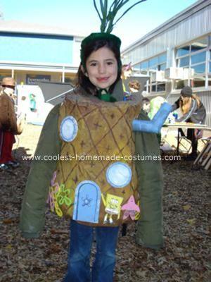 Homemade Spongebob Pineapple Costume  sc 1 st  Pinterest & Coolest Spongebob Pineapple Costume | Costume Ideas | Pinterest ...
