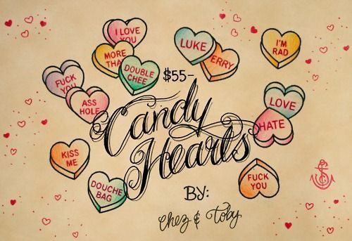 candy hearts flash drawing | art | Pinterest | Drawings ...