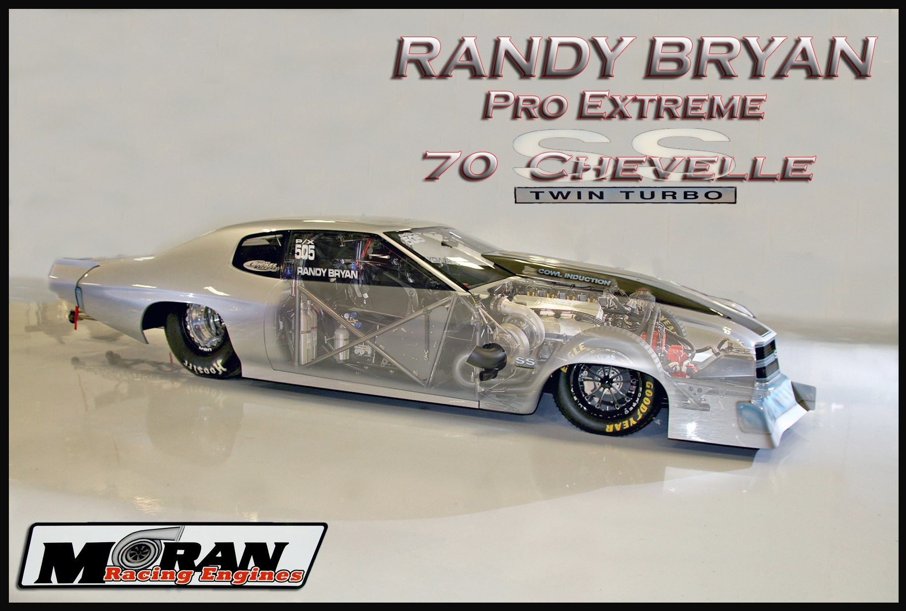 Randy Bryan's new PX Turbo '70 Chevelle from Jerry Bickel