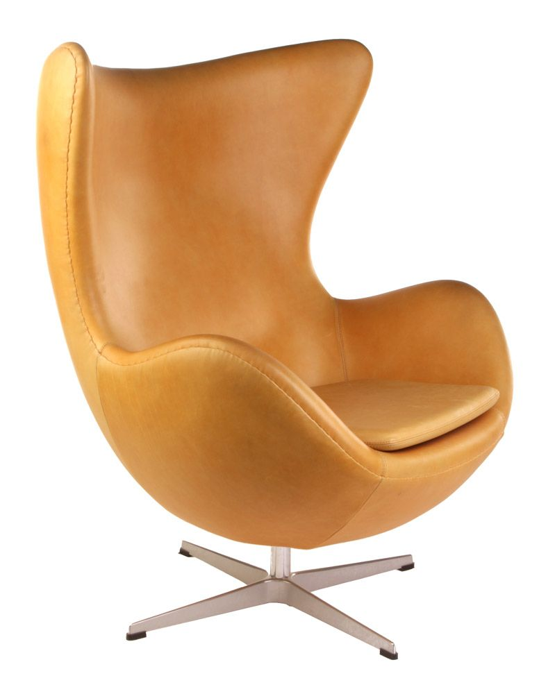 Ikea Ei Sessel Replica Arne Jacobsen Egg Chair Aniline Leather Main Image