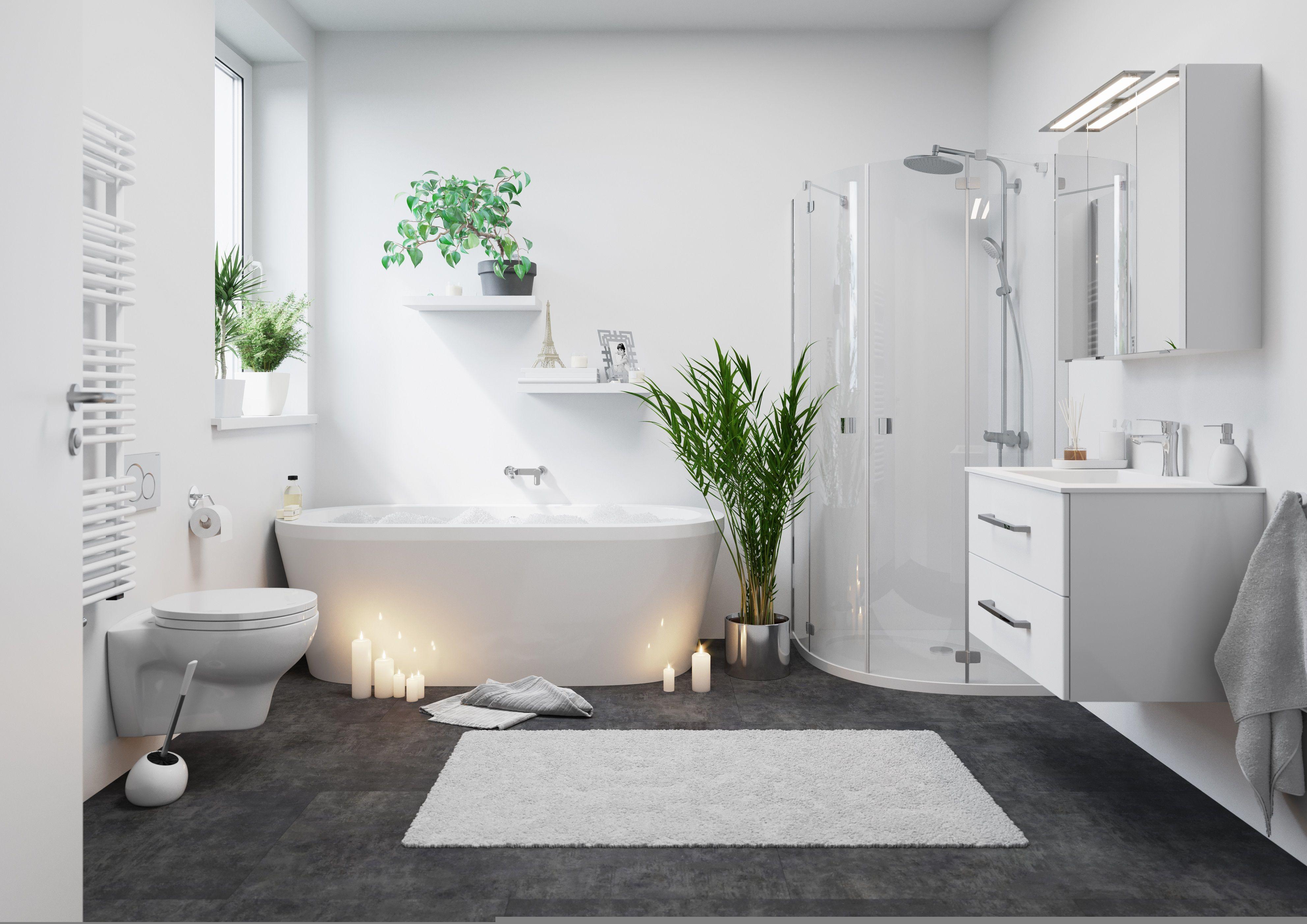 Badezimmer Dekorieren Wohlf Hl Atmosph Re In Ihrem Bad Obi Diydekorationenbadezimmer Dekorationenbadezim In 2020 Bad Einrichten Badezimmer Schone Badezimmer
