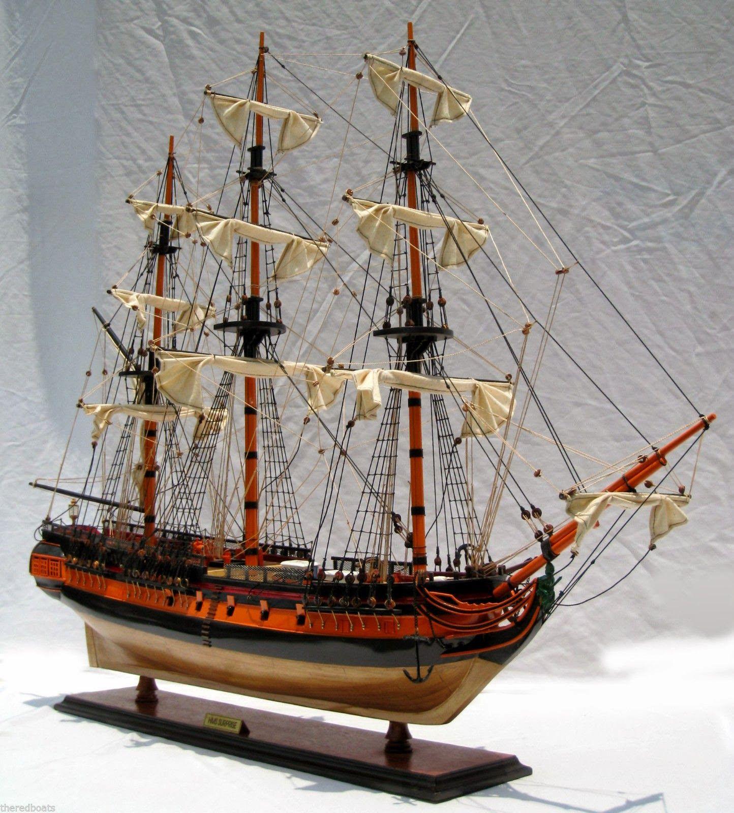 Nautical Handcrafted Decor And Ship Models Decorative Boats Model Sailing Ships Sailing Ship Model Model Ships