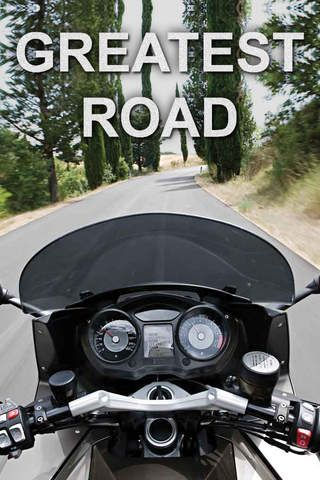 Greatest Road Motorcycle Rider GPS Road Finder - helps motorcycle riders find the best roads based on recommendations from other bikers.
