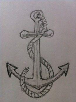 Wie zeichnet man einen Anker? - #Anker #einen #man #tekenen #wie #zeichnet #pencildrawingtutorials