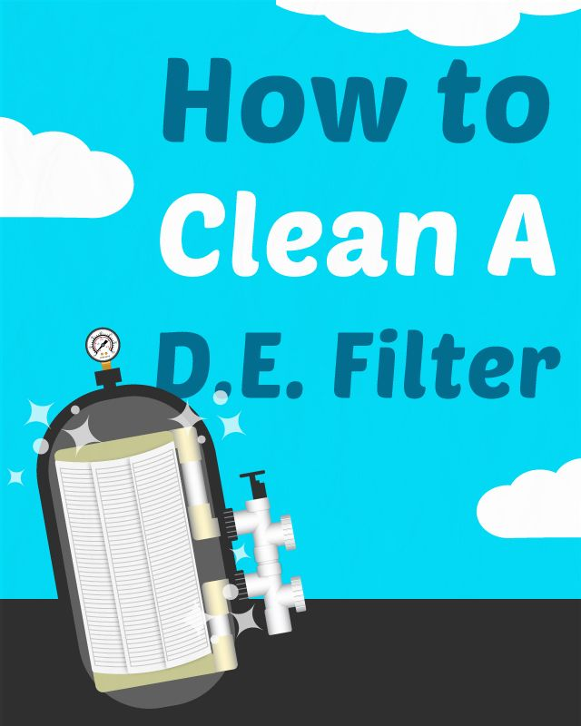 How To Clean Every Type Of Pool Filter Pool Filters Swimming Pool Maintenance Pool Care