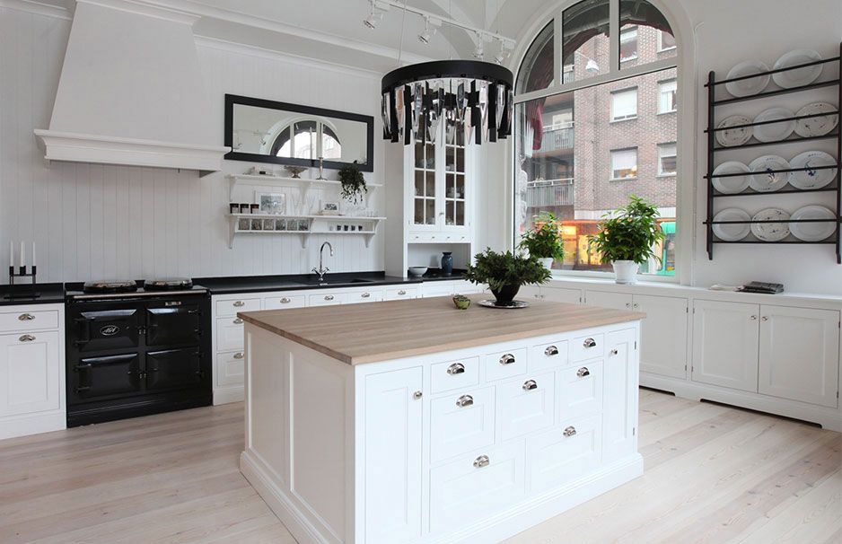 Moderne weiße Küchen - Kücheneinrichtung in Weiß planen Cucina - ikea küche landhausstil