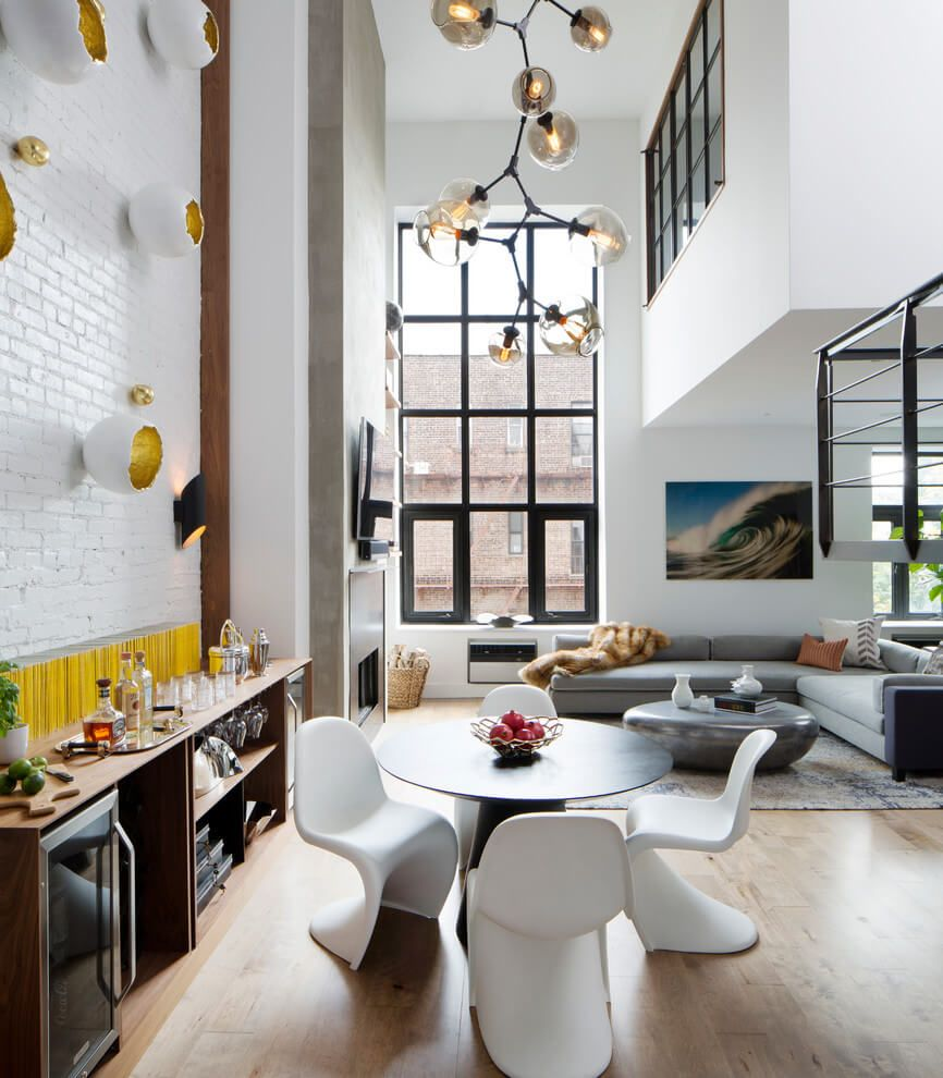 Design Firm Décor Aid Helps a Soho Couple Turn an Outdated Duplex ...