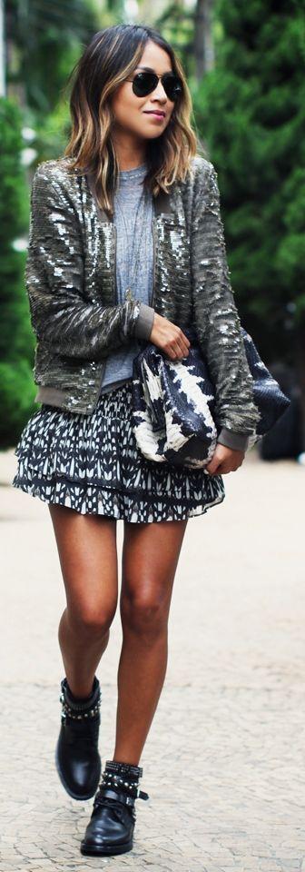 GREYLIN sequin jacket - Sincerely Jules