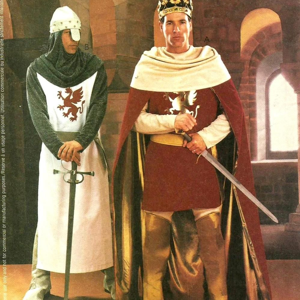 Mccalls sew pattern mens costume camelot knite king roman sz l mccalls sew pattern mens costume camelot knite king roman sz l xl mccall jeuxipadfo Images