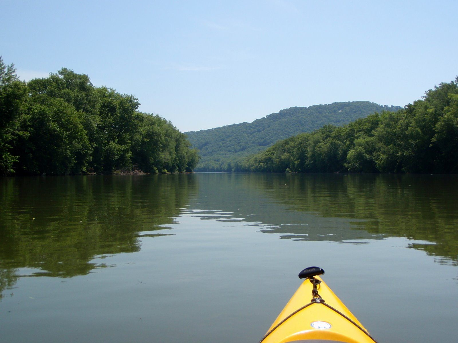 Shenandoah River, Virginia. Tubing on the 4th of July!