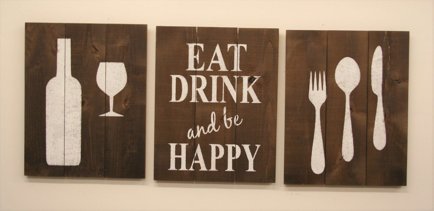Eat Drink And Be Happy Dining Room Wall Decor Dining Room Wall Decor Dinning Room Wall Decor Dining Room Walls
