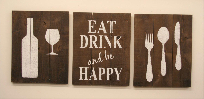 Kitchen Wall Decor Eat