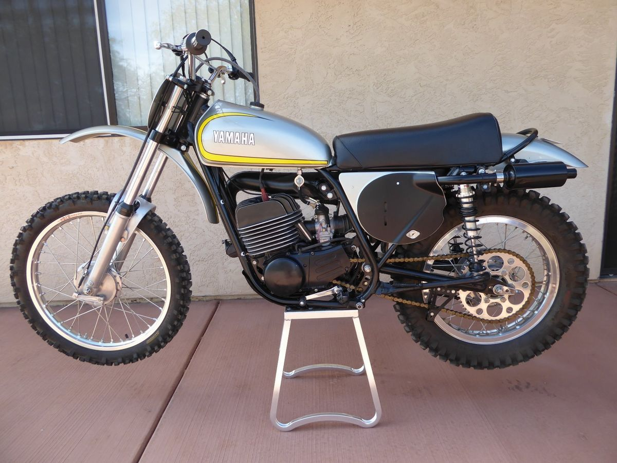 1973 Yamaha MX250 for sale via Rocker.co Vintage