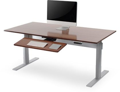 Superb Adjustable Height Desk Power Adjustable Desks Workstation Interior Design Ideas Clesiryabchikinfo