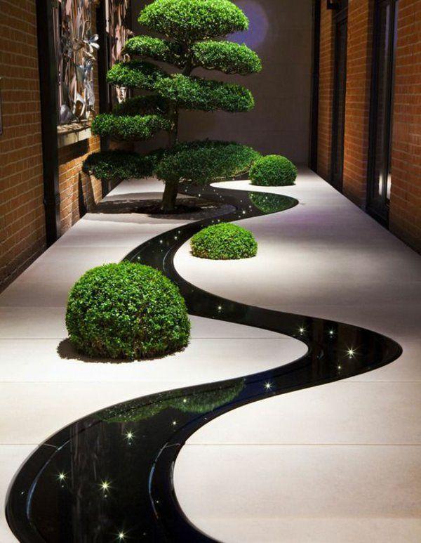 Ideen Gartengestalten Garten Anlegen Boden Beleuchtung | Garten ... Garten Terrasse Anlegen Ideen Boden
