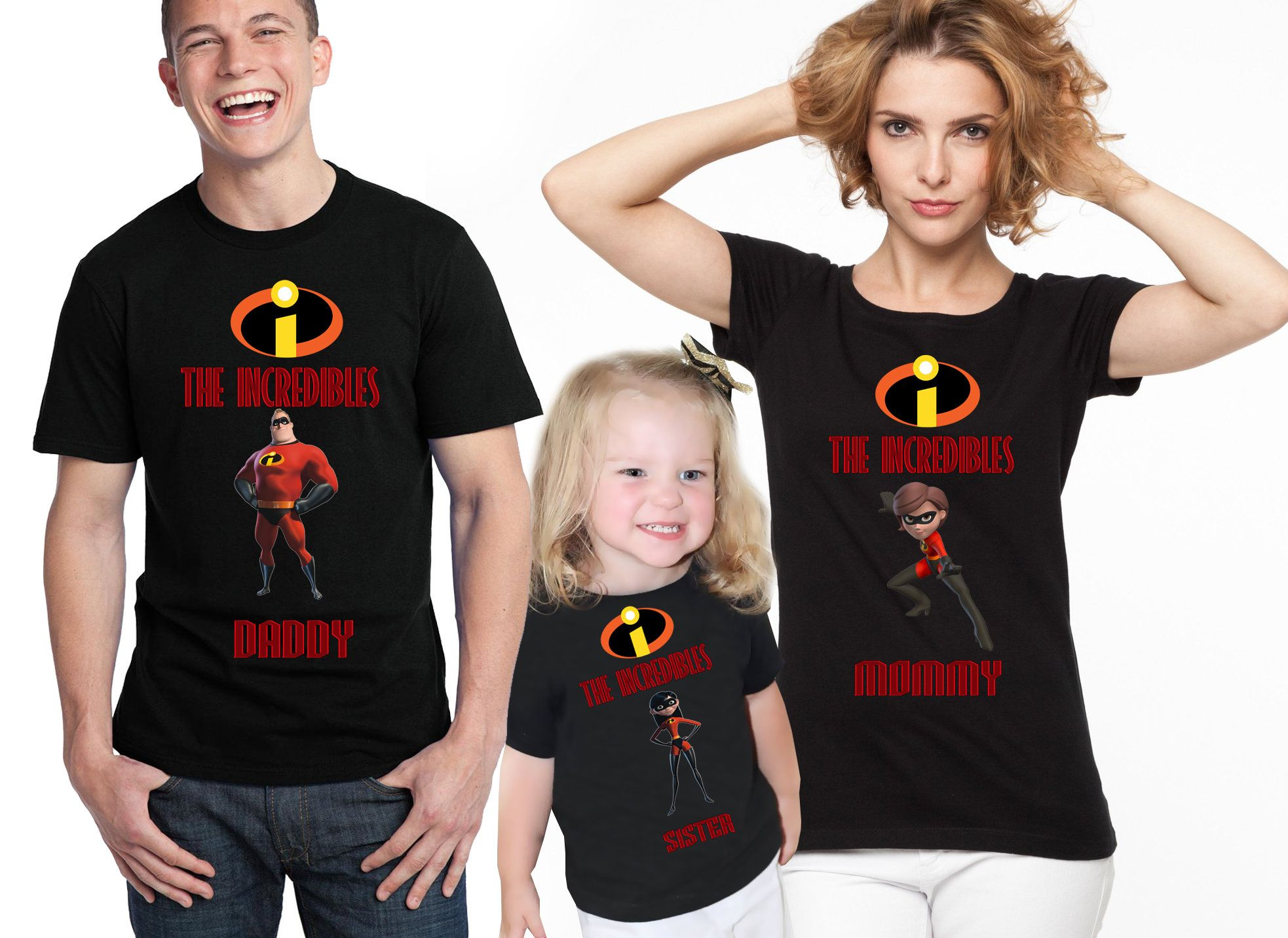 831feafe7 Birthday Family The Incredibles Shirts The Incredibles T-Shirt The  Incredibles Shirts Violet Parr Mr. Incredibles Elastigirl Dash Parr by ...