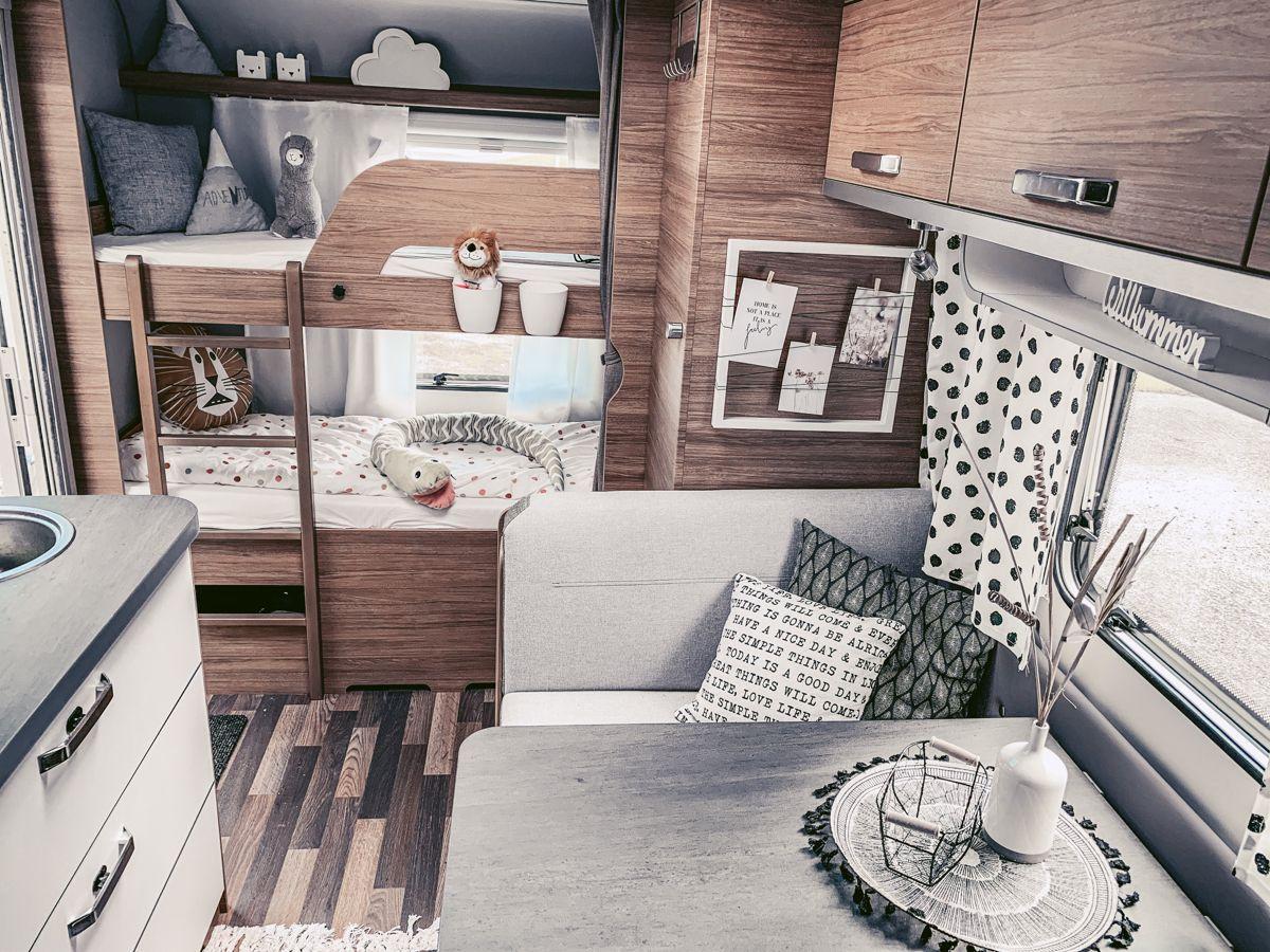 Wohnwagen renovieren / dekorieren