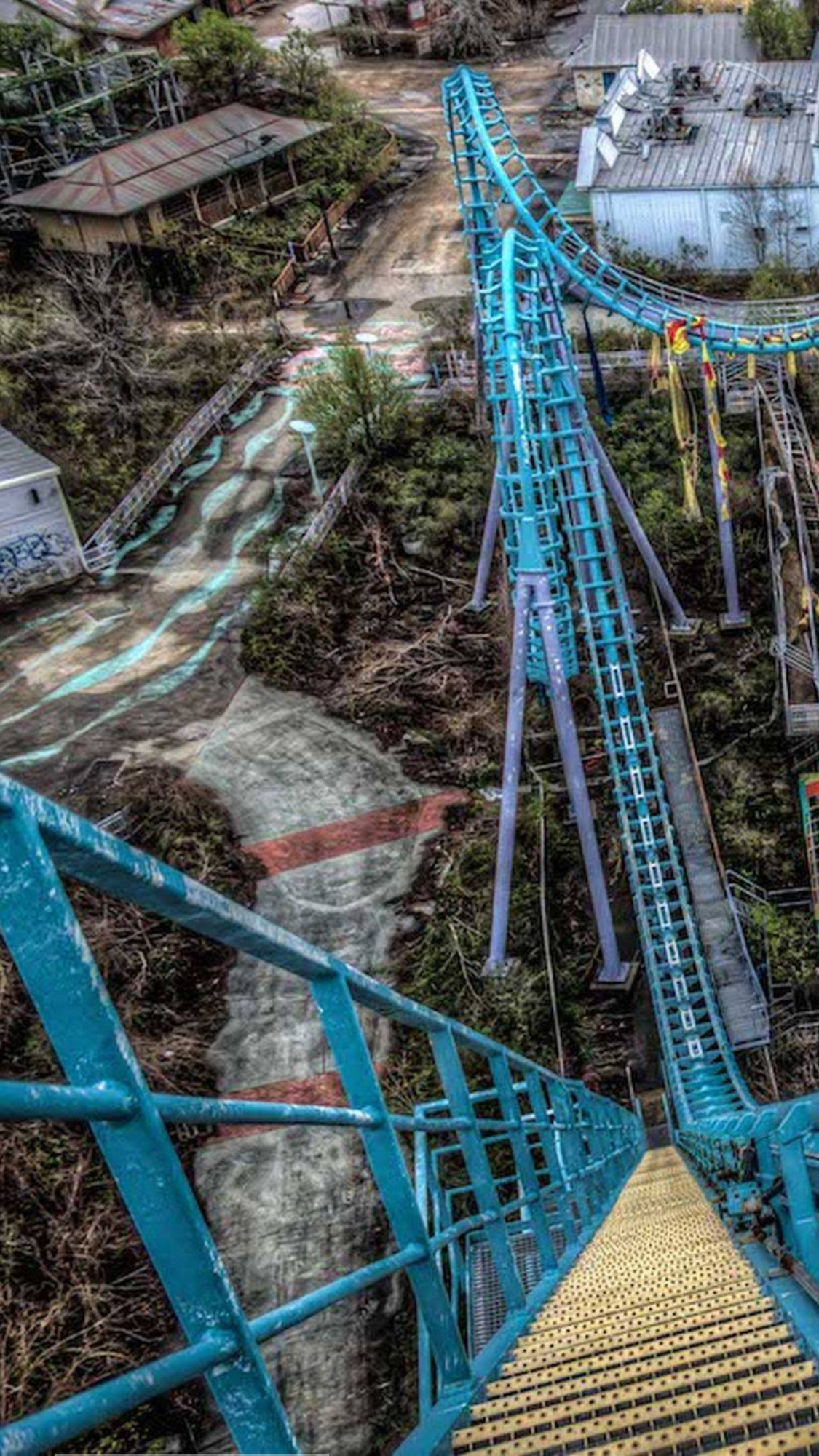 Six Flags New Orleans Abandoned Places Abandoned Urban Decay