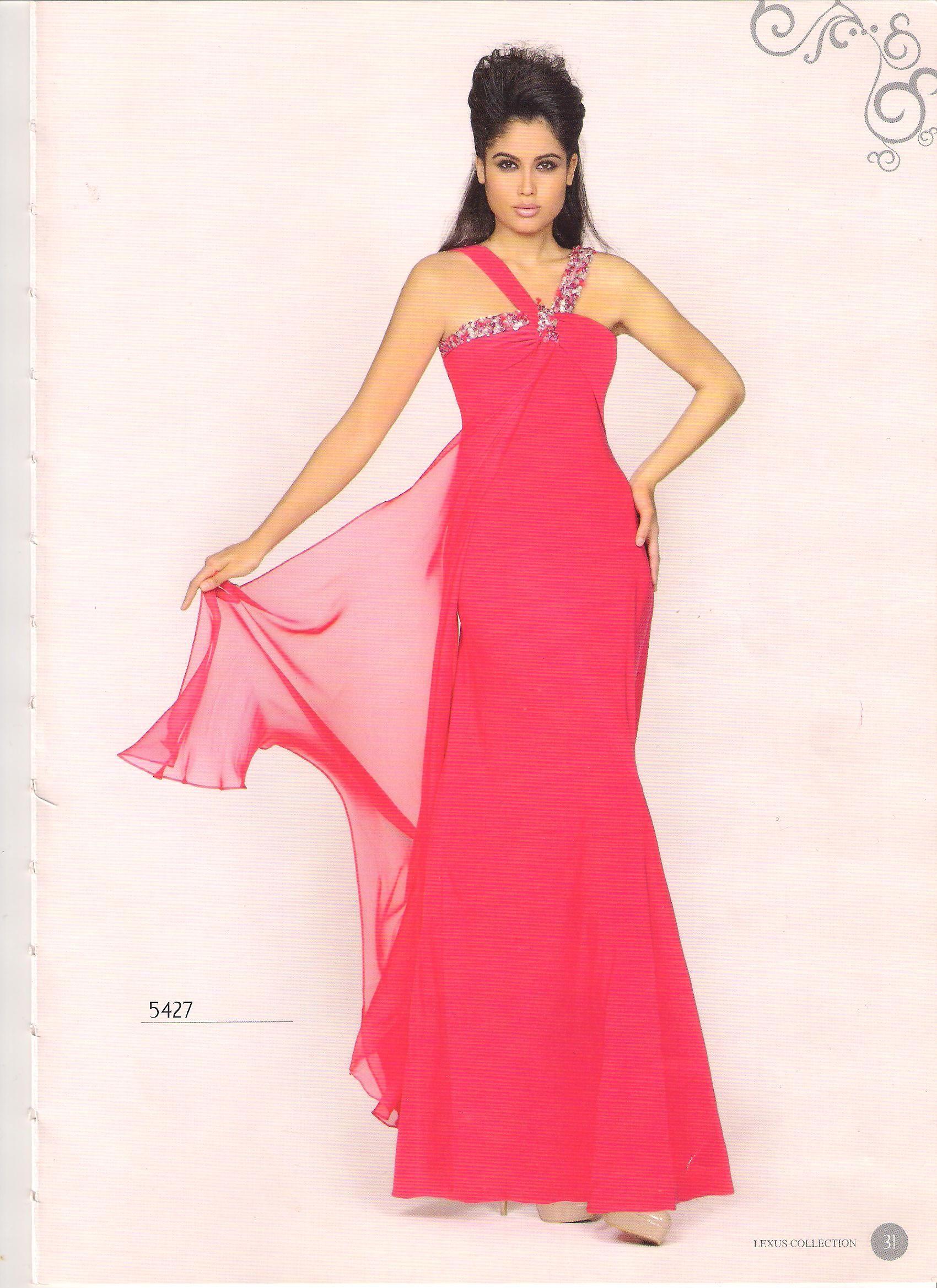 Vestido de fiesta COLECCIÓN LEXUS | modas matrimonios | Pinterest ...