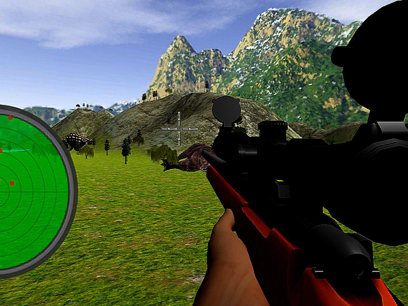 Jurassic Dinosaur Hunting Jurassic, Big guns