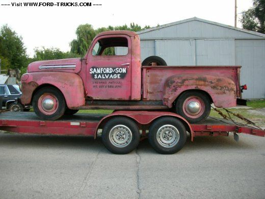 1951 Ford F1 4x2 Sanford And Son Truck Sanford And Son Trucks