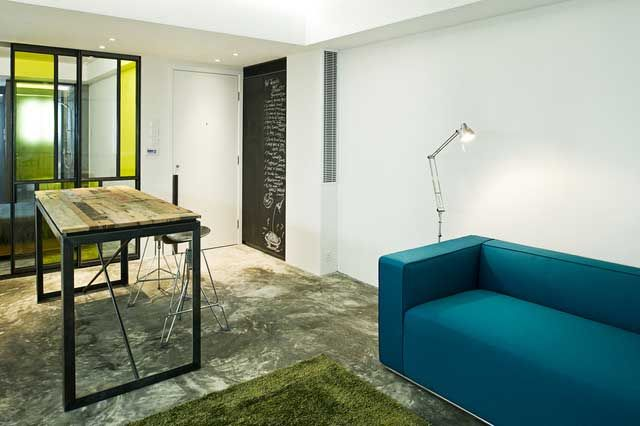 Small Studio Apartment - Interior Design in Hong Kong Studio - interieur gestaltung wohung klein bilder