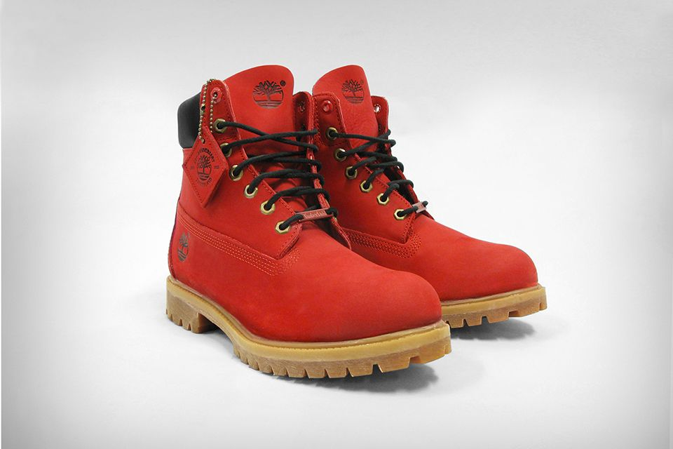 4P41aJt Timberland Custom Classic Ruby Red shoes For Men Online Shopping