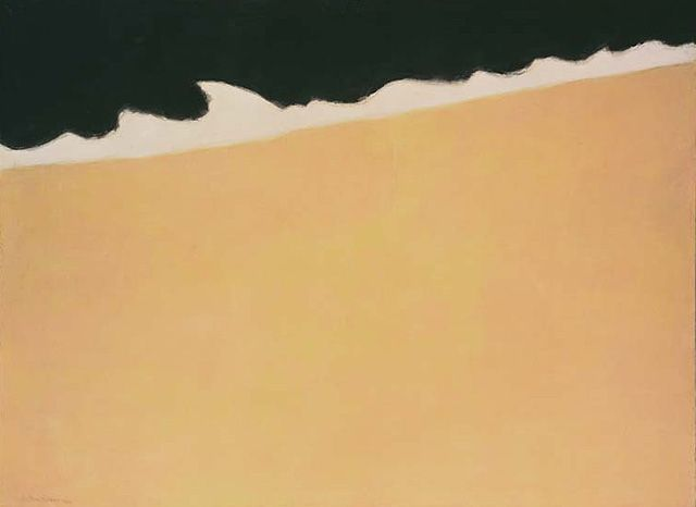 MILTON AVERY, Black Sea, 1959. Oil on canvas.