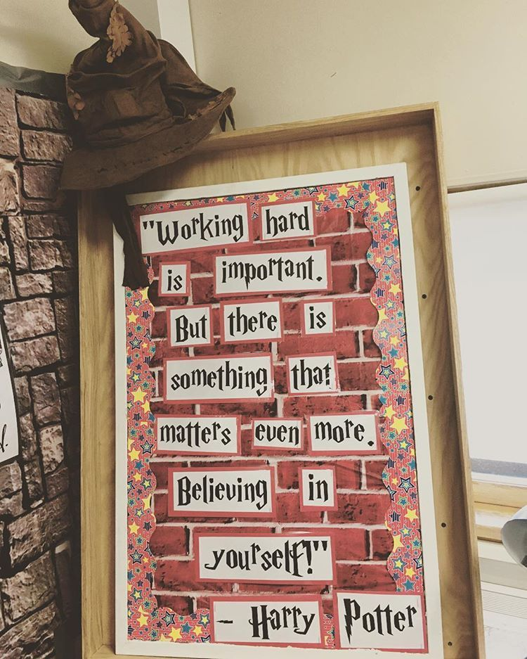 Just One Of The Gazillion Quotes I Have In My Room Harrypotterclassroom Quotes Teachersof Harry Potter Classroom Harry Potter Library Harry Potter Teachers