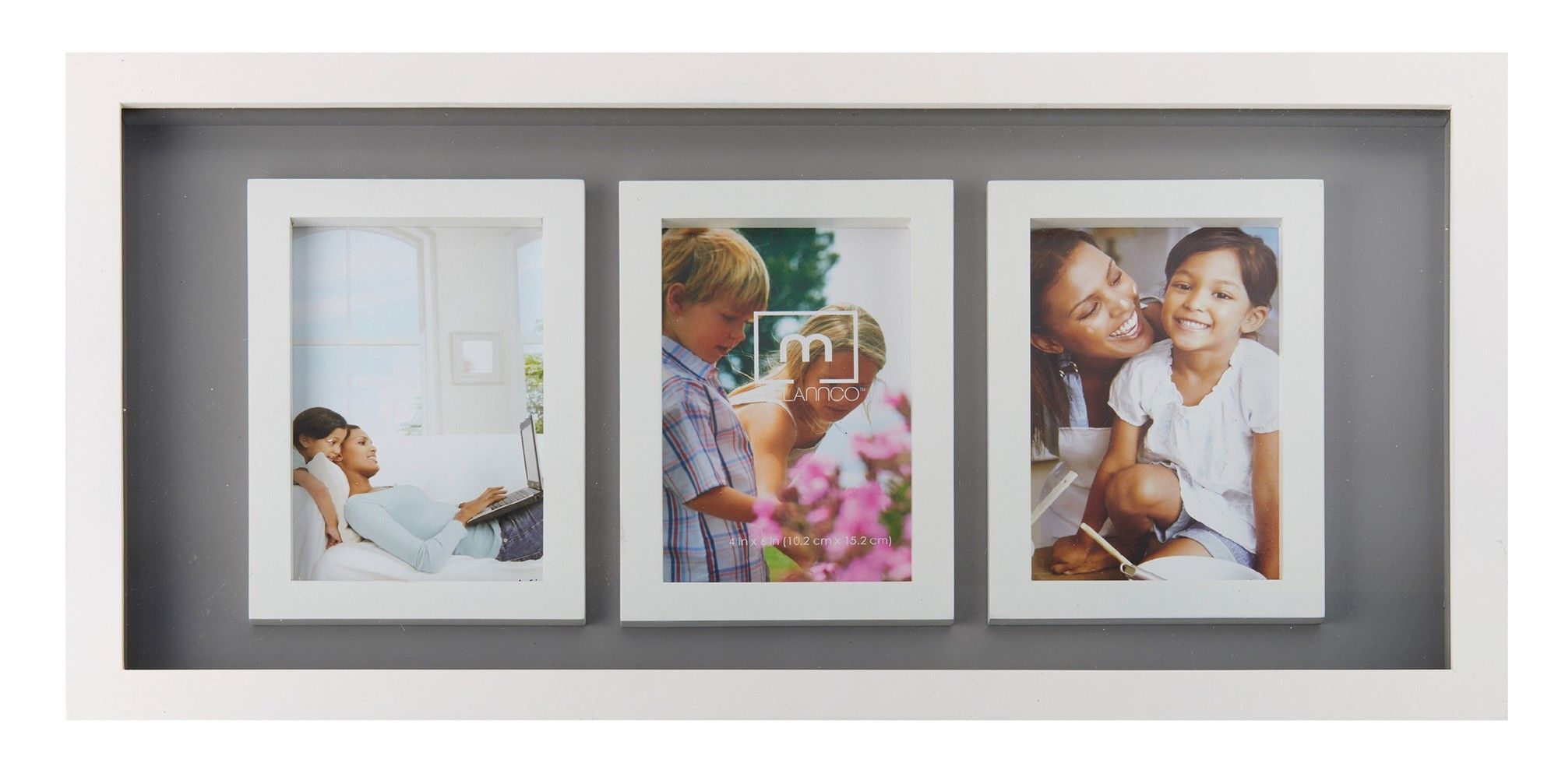 3-Opening Photo Collage Picture Frame