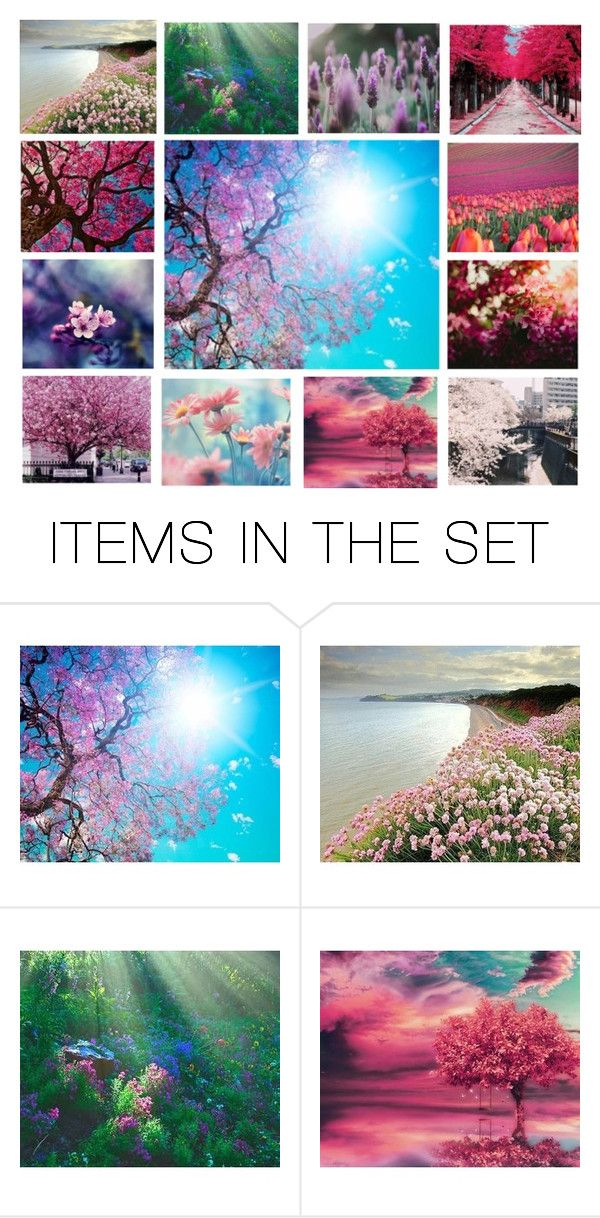 """""""Hello spring"""" by heartandsoul ❤ liked on Polyvore featuring art, sun, Flowers, expression and artexpression"""