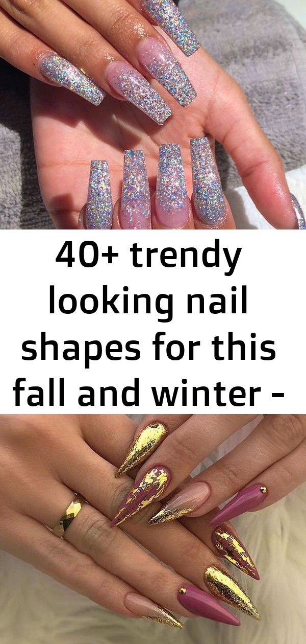 40+ trendy looking nail shapes for this fall and winter – page 23 of 44