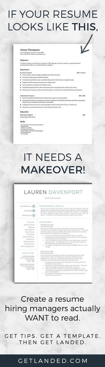80 of candidates desperately need a resume makeover! Get a resume - professional cv writing samples