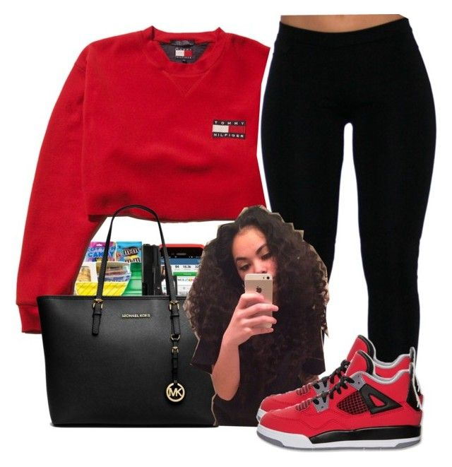 """""""~Kayla"""" by bank-shawtys ❤ liked on Polyvore featuring MICHAEL Michael Kors and Retrò"""