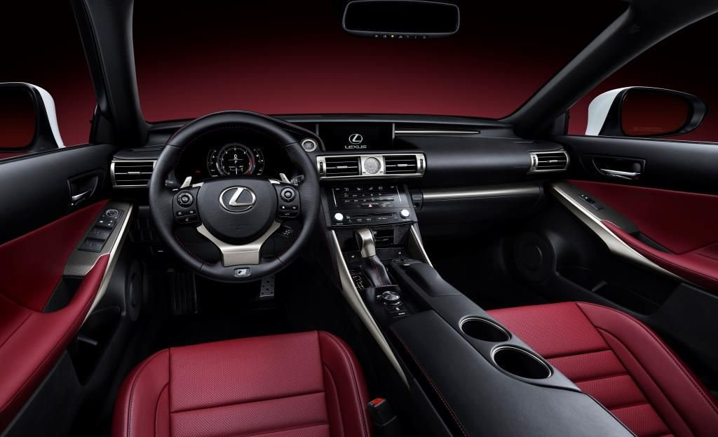 Lexus Is 250 Sedan Comfortable And Reliable Performance To Enjoy