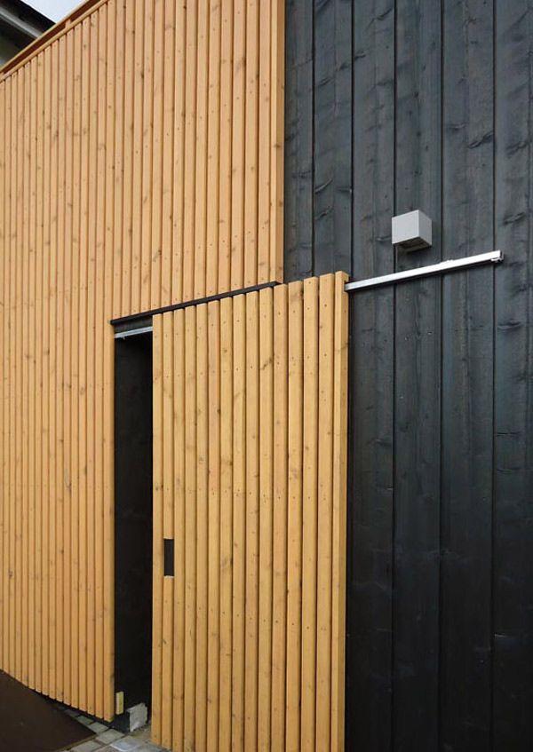 Finland Housing Fair 2012 16 Garage Door Stylish Barn Door Track Bardage Bois Bardage Facade